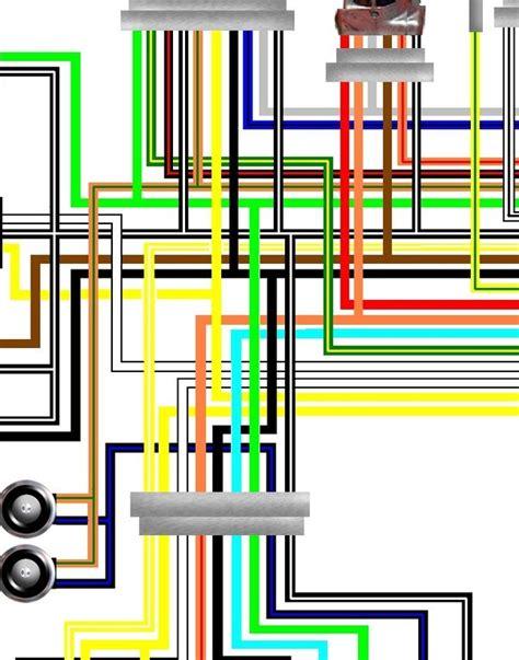 suzuki gsf600 bandit 1995 97 uk spec colour wiring loom