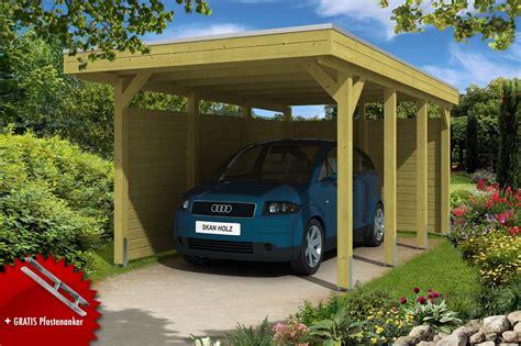 carport bausatz kaufen holz carport bausatz skanholz 171 friesland aluminiumdach
