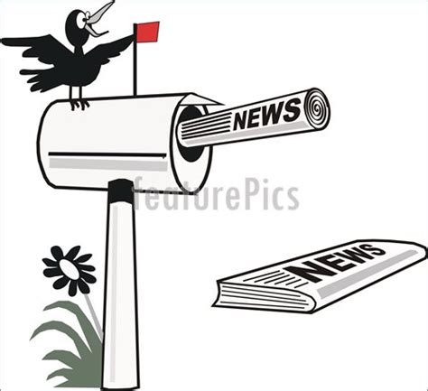 Cartoon Newspaper Pictures Caign Speech Template