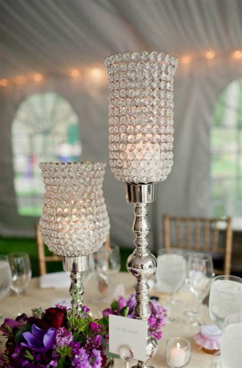 Hochzeitsdeko Gläser hochzeitstisch deko 30 trendy ideen f 252 r mehr glanz und reiz
