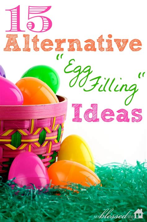 easter hunt ideas 15 alternative egg filling ideas