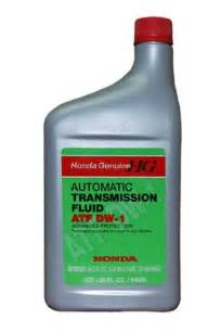 Honda Atf Z1 Automatic Transmission Fluid What Of Transmission Fluid Atf Should I Use Car