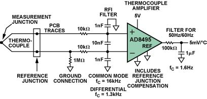 Thermocouple Lifier Circuit Diagram