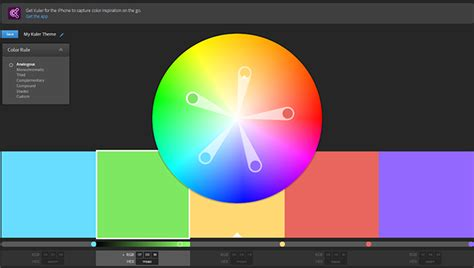 kuler color driverlayer search engine