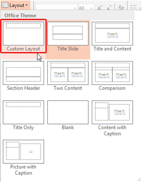 layout for powerpoint 2013 add new slide layouts in powerpoint 2013