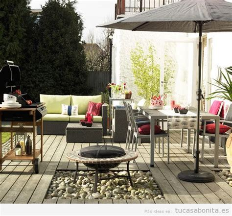 decoracion de patios de casa 8 ideas para decorar terrazas jardines o patios tu casa