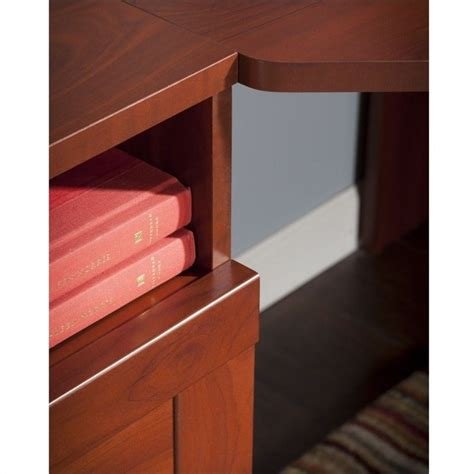 Bush Furniture Wheaton Reversible Corner Desk Bush Wheaton Reversible Corner Desk In Hansen Cherry My72813 03