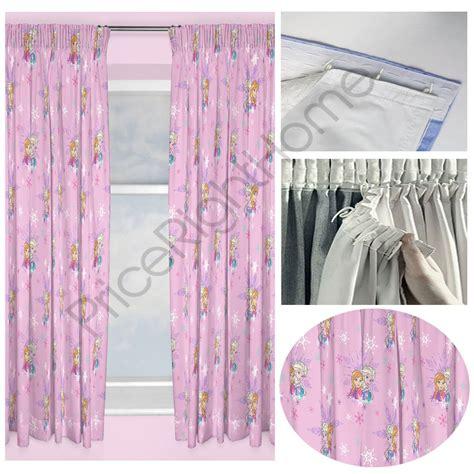 frozen curtains disney frozen magic curtains 2 drop lengths curtain