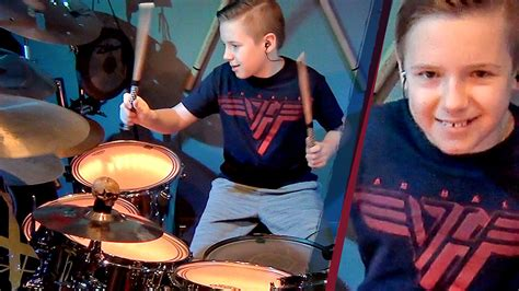 van halen house of pain van halen house of pain drum cover by avery molek