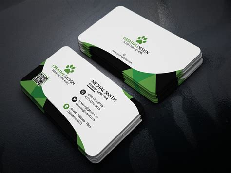 card psd templates free 300 best free business card psd and vector templates