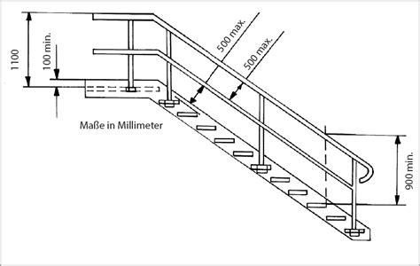 treppengeländer din a 1 20 innerbetriebliche verkehrswege bg rci