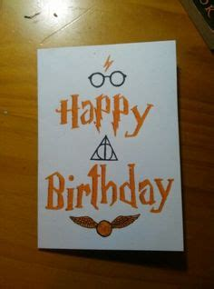 movie themed birthday ecards harry potter birthday card diy movies and tv shows
