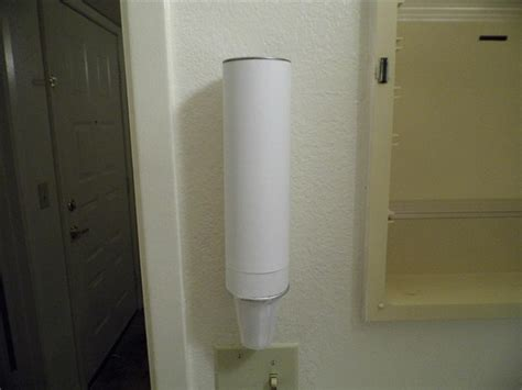 paper cup dispenser for bathroom how to make a cheap stylized paper cup dispenser for your