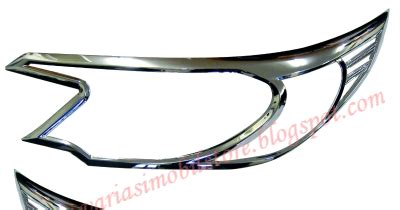 Garnishlist Lu Belakang All New Crv Chrome cover headl all new crv 2 2013 variasi mobil