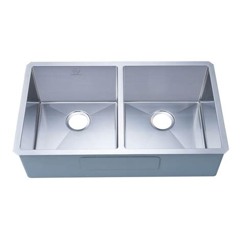 kohler staccato top mount stainless steel 33 in 1 hole