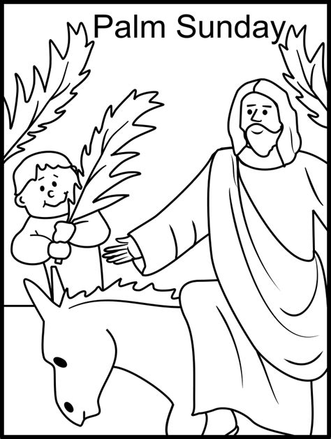 free printable easter coloring pages for sunday school palm sunday coloring page catholic coloring pages