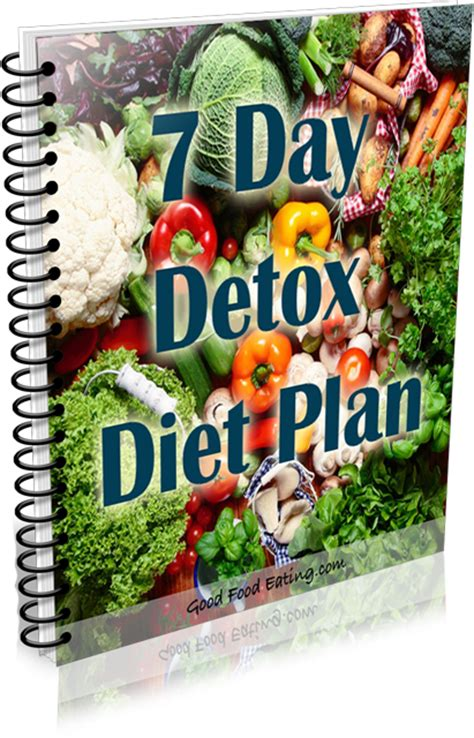 7 Day Detox Miracle Diet Plan by Diet Menu 7 Day Detox Diet Menu