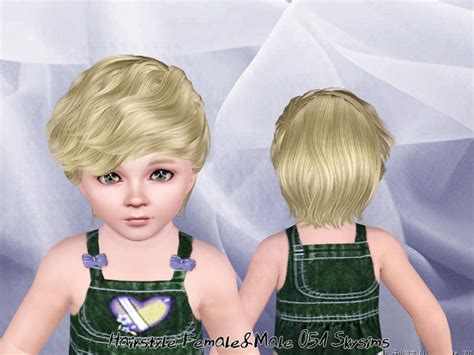 sims 3 toddler hair skysims hair toddler 051