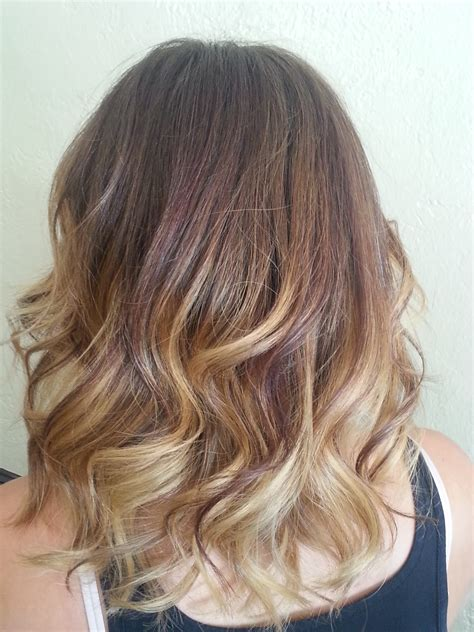 balayage on medium length hair balayage ombre highlights newhairstylesformen2014 com