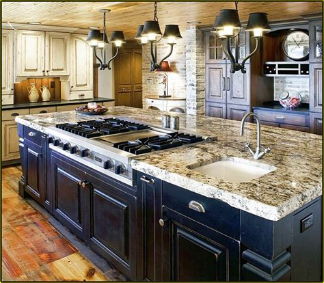 center island with stove top kitchen islands with seating and stove home