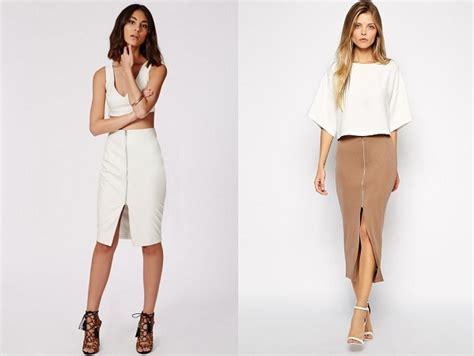 crop tops with a midi skirt fashionbuzzer