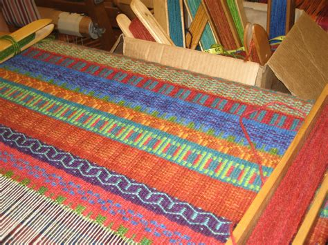 weave a rug wednesday nights at mac weaving our lives together