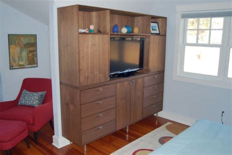 entertainment center for bedroom post modern walnut dresser entertainment center modern