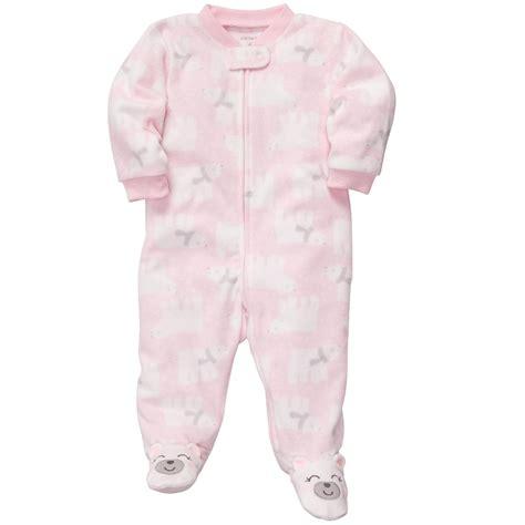Infant Fleece Sleepers disney baby winnie the pooh newborn s fleece sleeper pajamas baby baby toddler