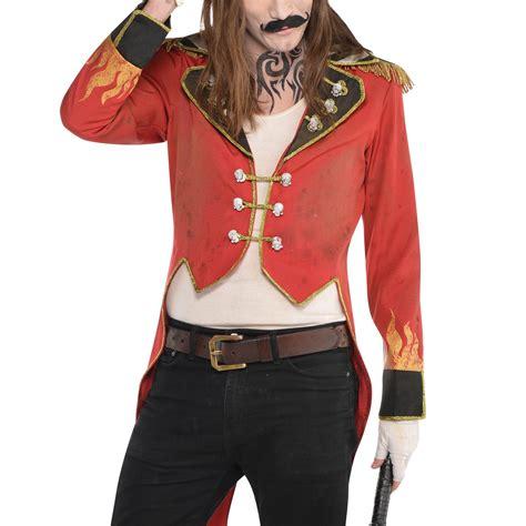 set of 3 fancy coat bloody circus carnival festival ringmaster tailcoat coat fancy jacket ebay