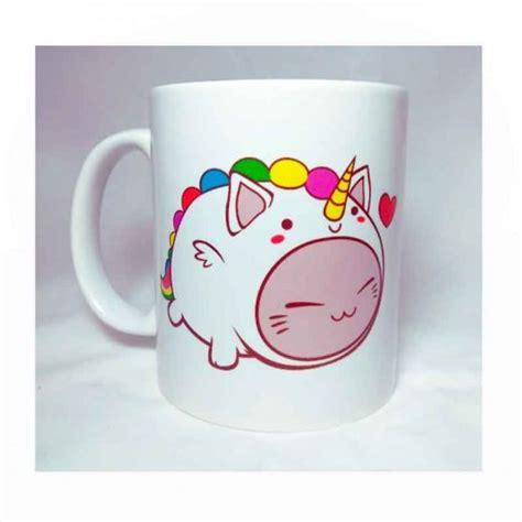 imagenes de gatos unicornios taza gato unicornio kawaii