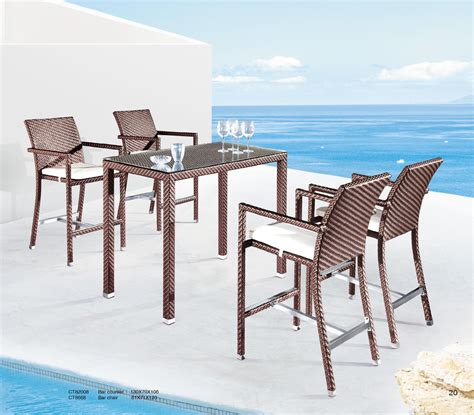 patio bar set ct82008 ct8668 outdoor patio furniture