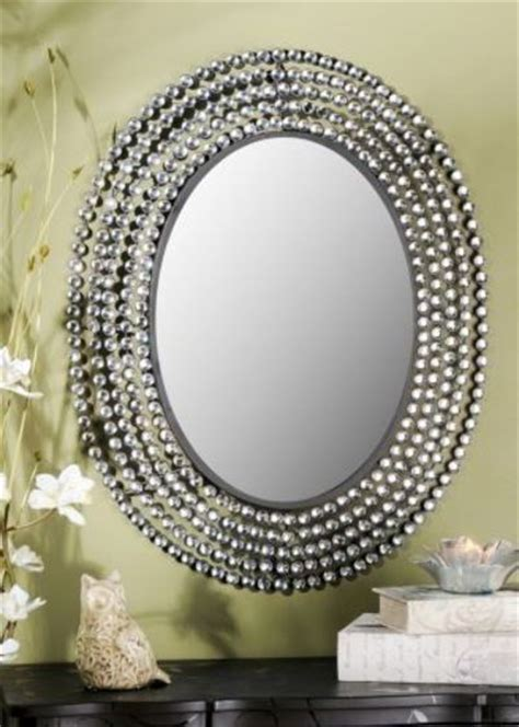 Kirklands jeweled bling oval mirror 109 99 perfect for va bath ideas juxtapost