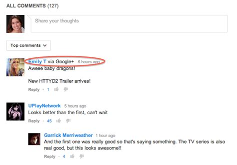 format youtube comments settling into the google integration on youtube
