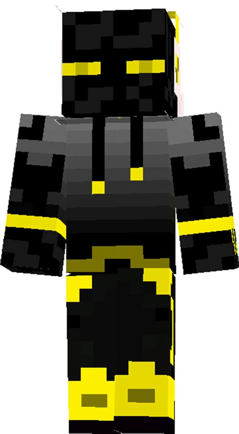yellow enderman teen