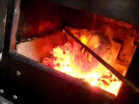 Paper Bricks For Burning - burning a compressed paper brick