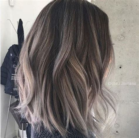 grey blonde and brown hairstyles 1000 ideas about grey brown hair on pinterest ashy