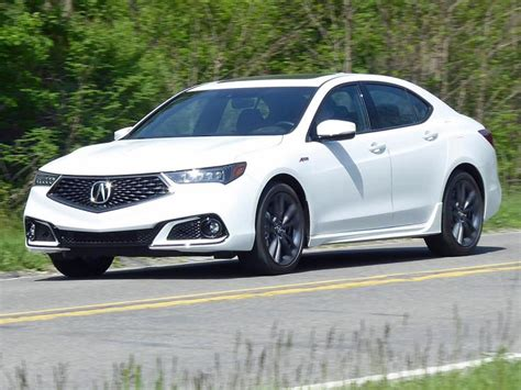 2018 acura tlx sedan lease special carscouts
