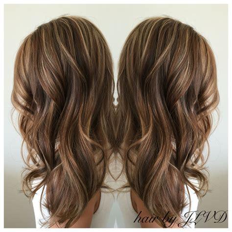 beautiful fall ready hair brunette highlights
