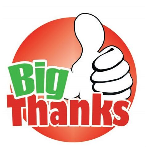 A Great Big Thankyou by Galmatic And A Big Thanks To You