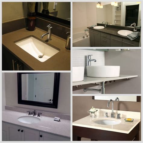 Wholesale Vanity Tops by Glossy Polished White Sparkle Quartz Vanity Top Wholesale Buy Glossy Quartz Vanity Tops White