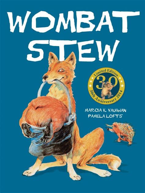 wombat picture book booktopia wombat stew 30th anniversary edition by