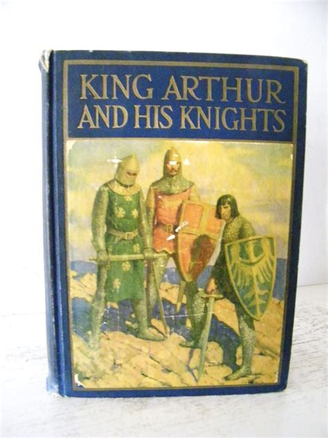 King Arthur and His Knights 1929 wonderful color book