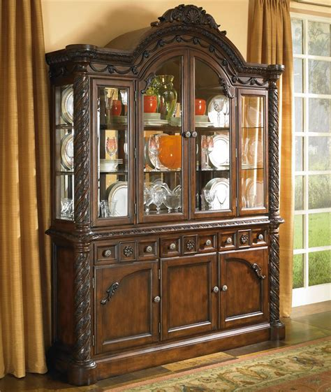 dining room tagged hutch overstock outlet millennium north shore china cabinet with glass doors