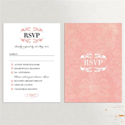 rsvp wedding cards in wedding invitations with rsvp cards included wedding