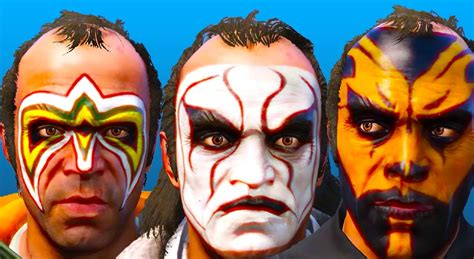 wwe umaga face paint gta 5 quot wwe face paint pack 3 0 quot файлы патч демо demo