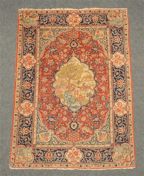 Oriental Rug With Various Roundels Floral Motifs And A Gard Rug Motifs