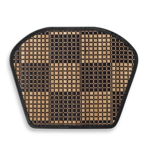 buy basketweave wedge placemat in red from bed bath beyond
