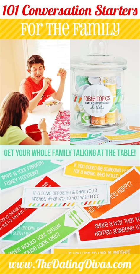dinner conversation topics table topics conversation starters for families