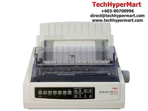Printer Oki Microline 390 Turbo 24pin Bekas driver oki microline 390 turbo win7