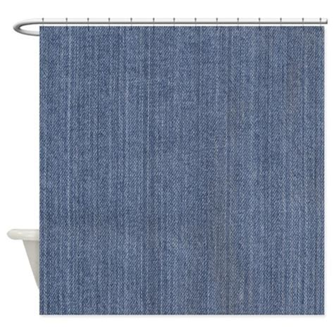 denim shower curtain blue denim jean shower curtain by be inspired by life